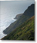 Pacific Coast Shoreline Iv Metal Print by Steven Ainsworth