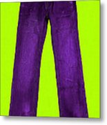 Pair Of Jeans 5 - Painterly Metal Print by Wingsdomain Art and Photography