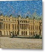 Palace Of Versailles Metal Print by Aaron Stokes