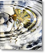 Palm Reflections Metal Print by Cheryl Young