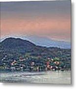 Panorama Lake Maggiore Metal Print by Joana Kruse