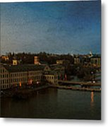 Panoramic Appleton Skyline Metal Print by Joel Witmeyer
