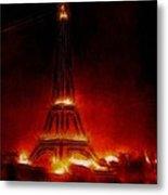 Paris Nights Metal Print by Stefan Kuhn