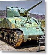 Patton M4 Sherman Metal Print by Jason Abando