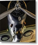 Pearl Harbor Bomber Metal Print by Rachelle Crockett