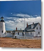 Pemaquid Point Lighthouse 4800 Metal Print by Guy Whiteley