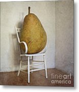 Perry Was Just Thankful Not To Have Her Mothers Piano Legs Metal Print by Paul Grand