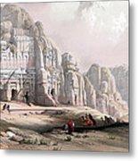 Petra  Metal Print by Munir Alawi