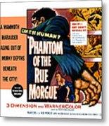 Phantom Of The Rue, Patricia Medina Metal Print by Everett