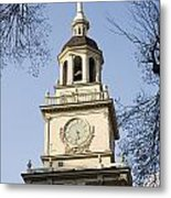 Philadelphias Independence Hall Metal Print by Tim Laman