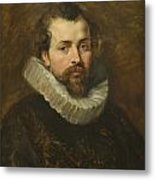 Philippe Rubens - The Artist's Brother Metal Print by Peter Paul Rubens