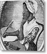 Phillis Wheatley 1753-1784, The First Metal Print by Everett