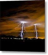 Phx Night Lightning #1 Metal Print by Kenny Jalet