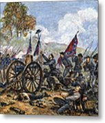 Picketts Charge, 1863 Metal Print by Granger