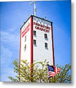 Picture Of Frankfort Grainery In Frankfort Illinois Metal Print by Paul Velgos