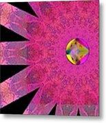 Pink Ribbon Of Hope Metal Print by Alec Drake