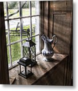Pitcher Window Metal Print by Peter Chilelli
