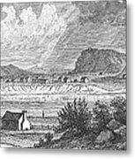Pittsburgh, 1790 Metal Print by Granger