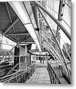 Pittsburgh Lines 2 Metal Print by Emmanuel Panagiotakis