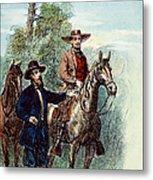 Plantation: Overseer, 1867 Metal Print by Granger
