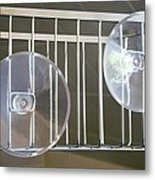 Plastic Suction Cups Metal Print by Sheila Terry