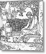 Plato (c427-c347 B.c.) Metal Print by Granger