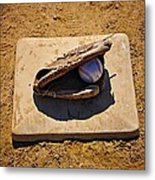 Play Ball Metal Print by Bill Cannon