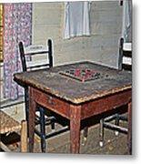 Playing Checkers Metal Print by Susan Leggett