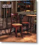 Please Use Other Doors Metal Print by Brenda Bryant