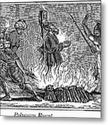 Polycarp Of Smyrna Metal Print by Granger