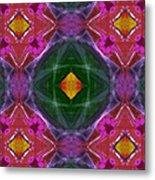 Polychromatic Arabesque Metal Print by Gregory Scott