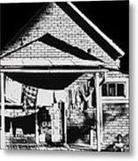 Poor Afro American Metal Print by Don Wolf