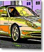 Porsche Carrera Study 4 Metal Print by Samuel Sheats