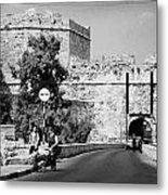 Porta Di Limisso Old Land Limassol Gate In The Old City Walls Famagusta Metal Print by Joe Fox