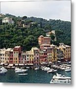 Portofino Dreaming Metal Print by Marilyn Dunlap