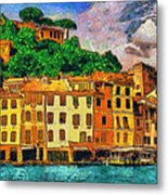 Portofino II Metal Print by George Rossidis