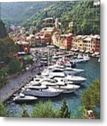 Portofino Metal Print by Marilyn Dunlap