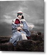 Portrait Of Mary Metal Print by Cindy Singleton