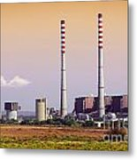 Power Plant Metal Print by Carlos Caetano