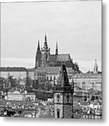 Prague - City Of A Hundred Spires Metal Print by Christine Till