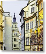Prague - Walking In The Footsteps Of Kings Metal Print by Christine Till