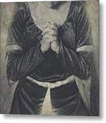 Prayer Metal Print by Joana Kruse