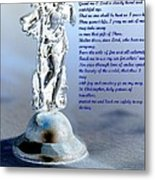Prayer To St Christopher Metal Print by Maria Urso