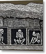 Prehistoric Tomb, Sweden Metal Print by Sheila Terry