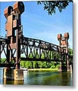 Prescott Lift Bridge Metal Print by Kristin Elmquist