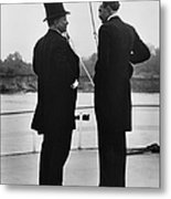 President Roosevelt And Gifford Pinchot Metal Print by Photo Researchers