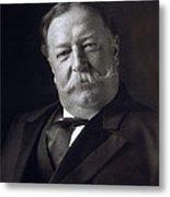 President William Howard Taft Metal Print by International  Images