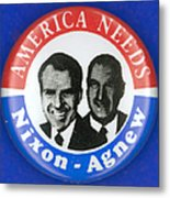 Presidential Campaign:1972 Metal Print by Granger