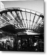 Princes Mall Princes Street Edinburgh Scotland Uk United Kingdom Metal Print by Joe Fox