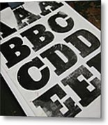 Printed Posters Metal Print by Tobias Titz